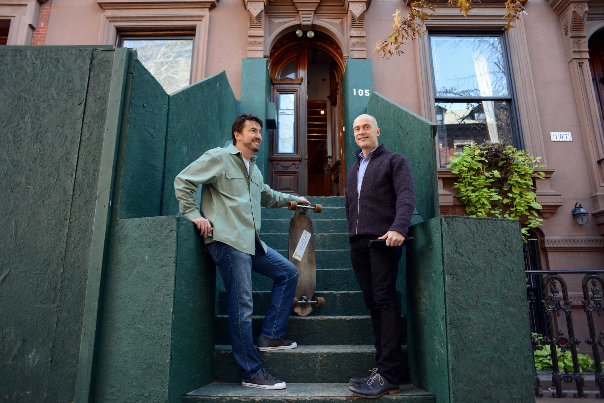 Robert and Eric Taffera are the restoration specialists of Brooklyn Heights - New York Times December 17, 2015